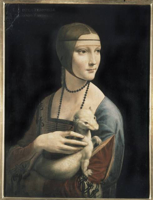 Leonardo da Vinci. The Lady with an Ermine