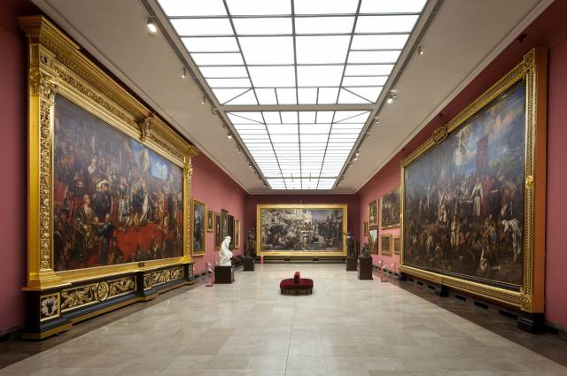 Gallery of the 19th-century Polish Art in Sukiennice