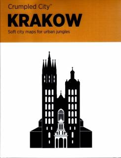 Plan Krakowa Crumpled City