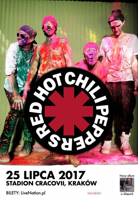 Red Hot Chilli Peppers na stadionie Cracovii