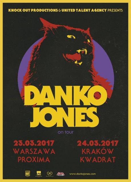 Danko Jones w Kwadracie