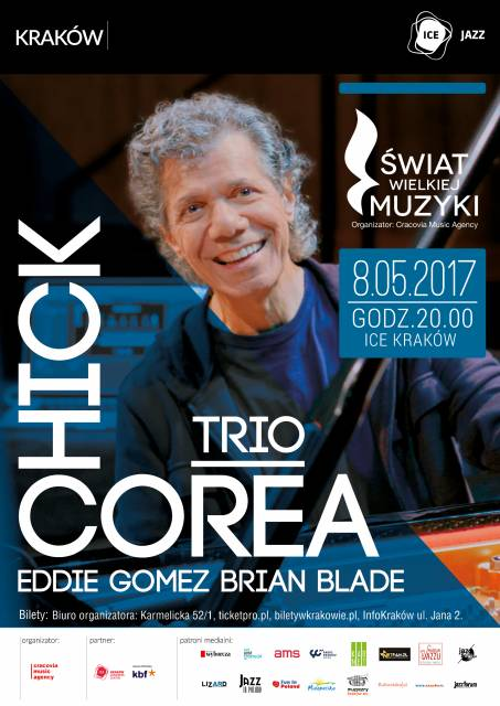 Chick Corea Trio at ICE Kraków