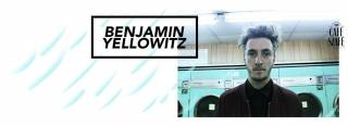 Benjamin Yellowitz w Cafe Szafe