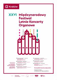 26th International Summer Organ Concerts Festival
