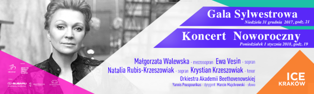 Grand New Year's Eve Gala and New Year's Concert at ICE Kraków