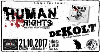 Human Rights + Dekolt w Apotece