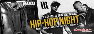Hip-Hop Night: Małach & Rufuz, Z.B.U.K.U w Kwadracie