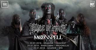 Cradle of Filth + Moonspell w Kwadracie