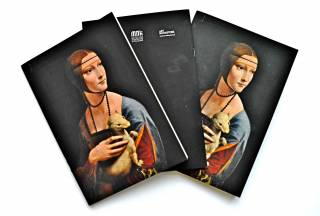 """Lady With An Ermine"" Notebook"