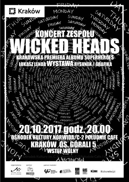 Superheroes, Wicked Heads w C-2 Południe Cafe