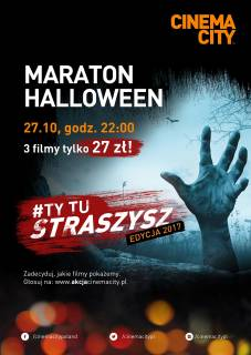 Maraton Halloween w Cinema City