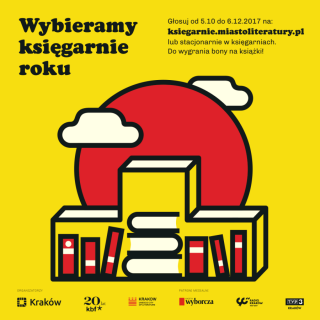 Choose the Krakow bookshops of the year