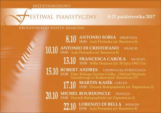 9th International Royal Cracow Piano Festival