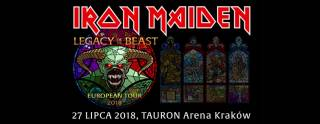 Iron Maiden in Tauron Aren Kraków