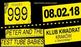 999 / Peter And The Test Tube Babies / The Sandals w Kwadracie