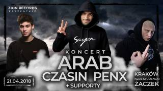 Arab + Czasin + Penx + support