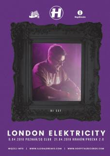London Elektricity + support: ROS addiction, Gang$teppaz
