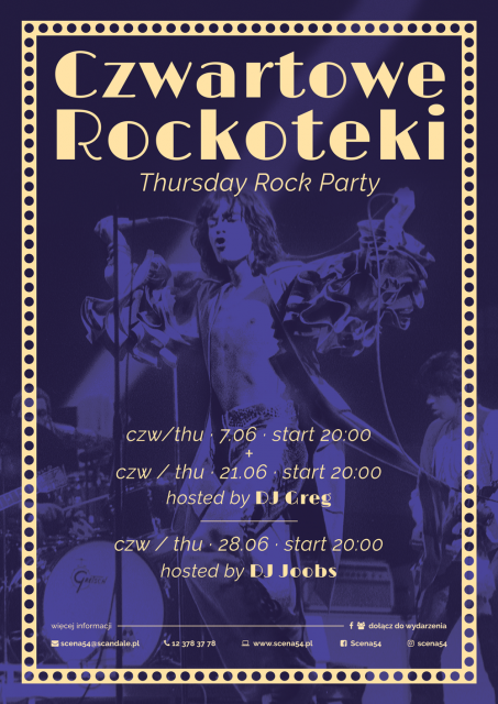 Thursday Rockoteka by DJ Greg