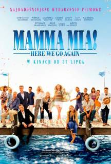 """Mamma Mia: Here We Go Again!"" w Cinema City"