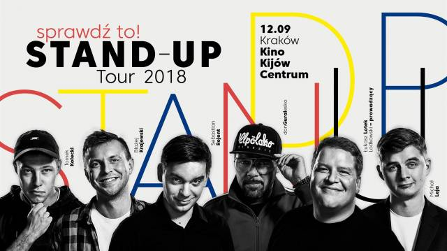 Sprawdź to! Stand-up Tour 2018
