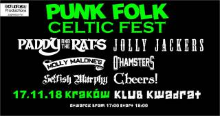 Punk Folk Celtic Fest w Kwadracie
