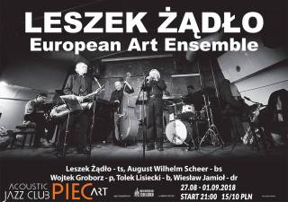 Leszek Żądło European Art Ensemble w Piec Art
