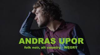 András Upor w Cafe Szafe