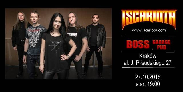 Iscariota, Firlith, Anima Umbra w Boss Garage Pub