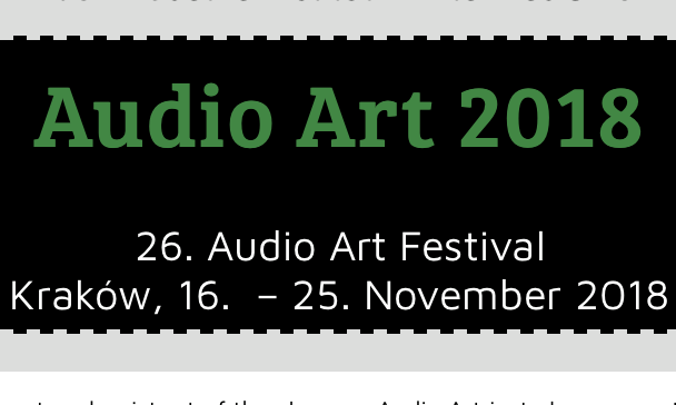 Audio Art Festival 2018