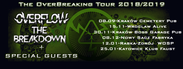 Overflow i The Breakdown: The OverBreaking Tour