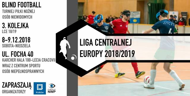 Blind Football Central European League 2018/2019 | Kraków