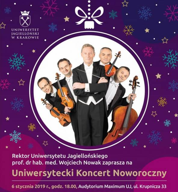 The University New Year Concert - the MozART Group and the Beethoven Academy Orchestra.
