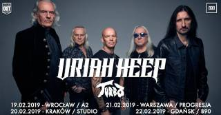 Uriah Heep, Turbo w Studio