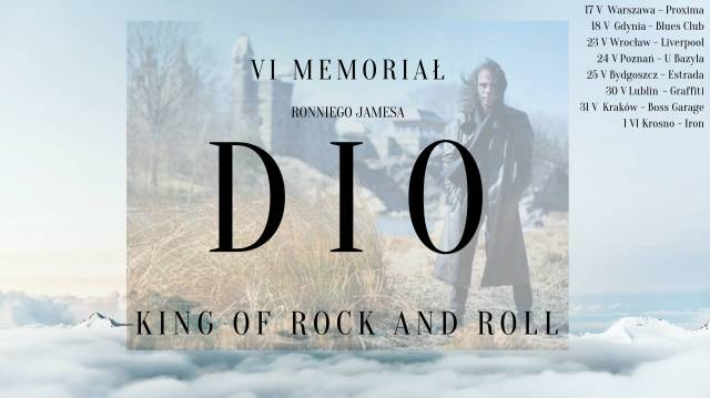 King of Rock and Roll – VI memoriał Ronniego Jamesa Dio