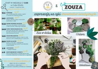 Creative workshops at Cafe Zouza