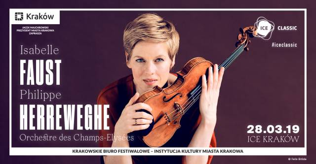 ICE Classic: Isabelle Faust & Philippe Herreweghe