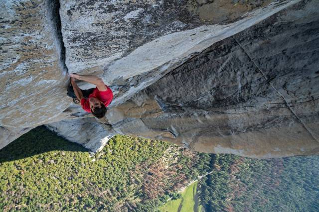 Free Solo & The Dawn Wall w Kinie Pod Baranami