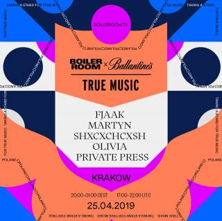 Boiler Room x Ballantine's x True Music