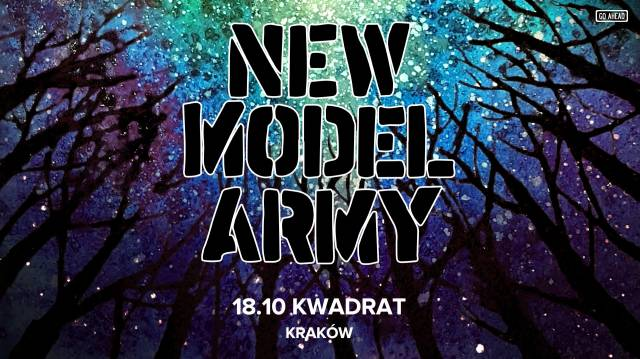 New Model Army w Kwadracie