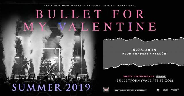 Bullet for My Valentine w Kwadracie