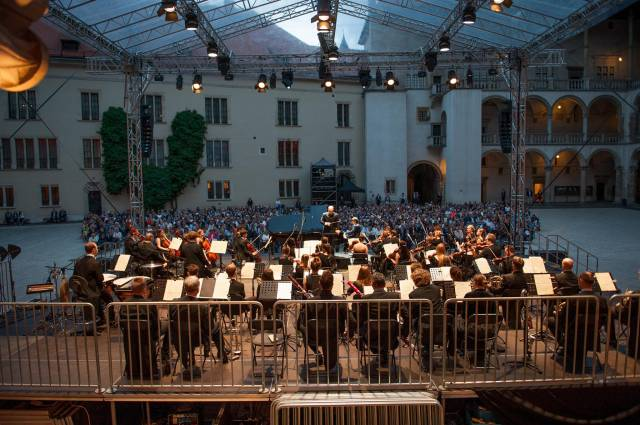12th Summer Music Festival Wawel at Dusk