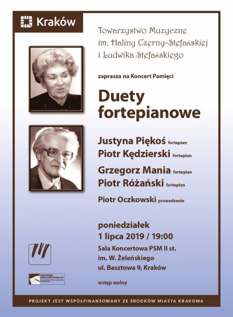 Concert in memory of Halina and Ludwik Stefański