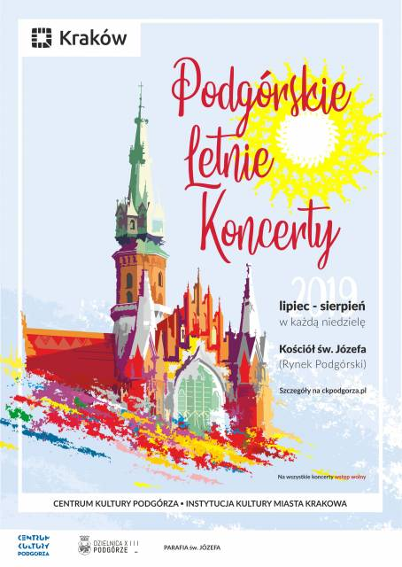 The Summer Concerts in Podgórze 2019