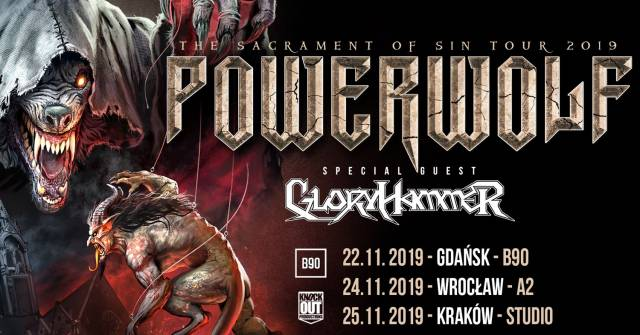 Powerwolf, Gloryhammer w Studio