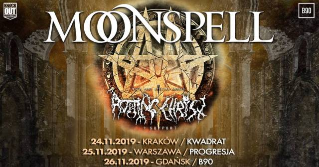 Moonspell, Rotting Christ w Kwadracie