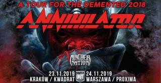 Annihilator, Archer Nation w Kwadracie