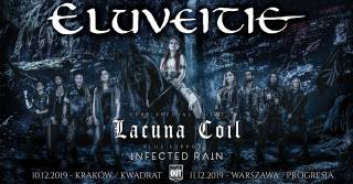 Eluveitie, Lacuna Coil, Infected Rain w Kwadracie
