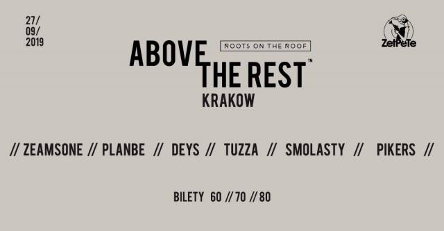 Above the Rest w Zet Pe Te