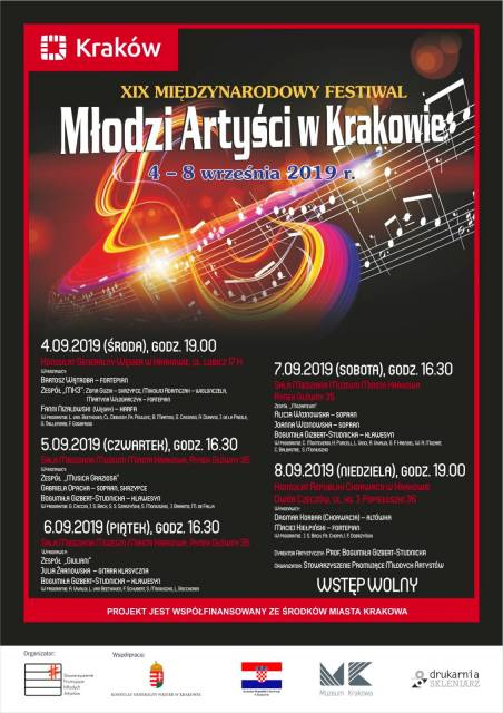 19th Young Artists in Kraków International Festival