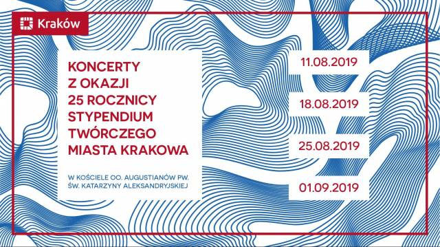 Concerts on the 25th anniversary of Creative Scholarships of the City of Krakow